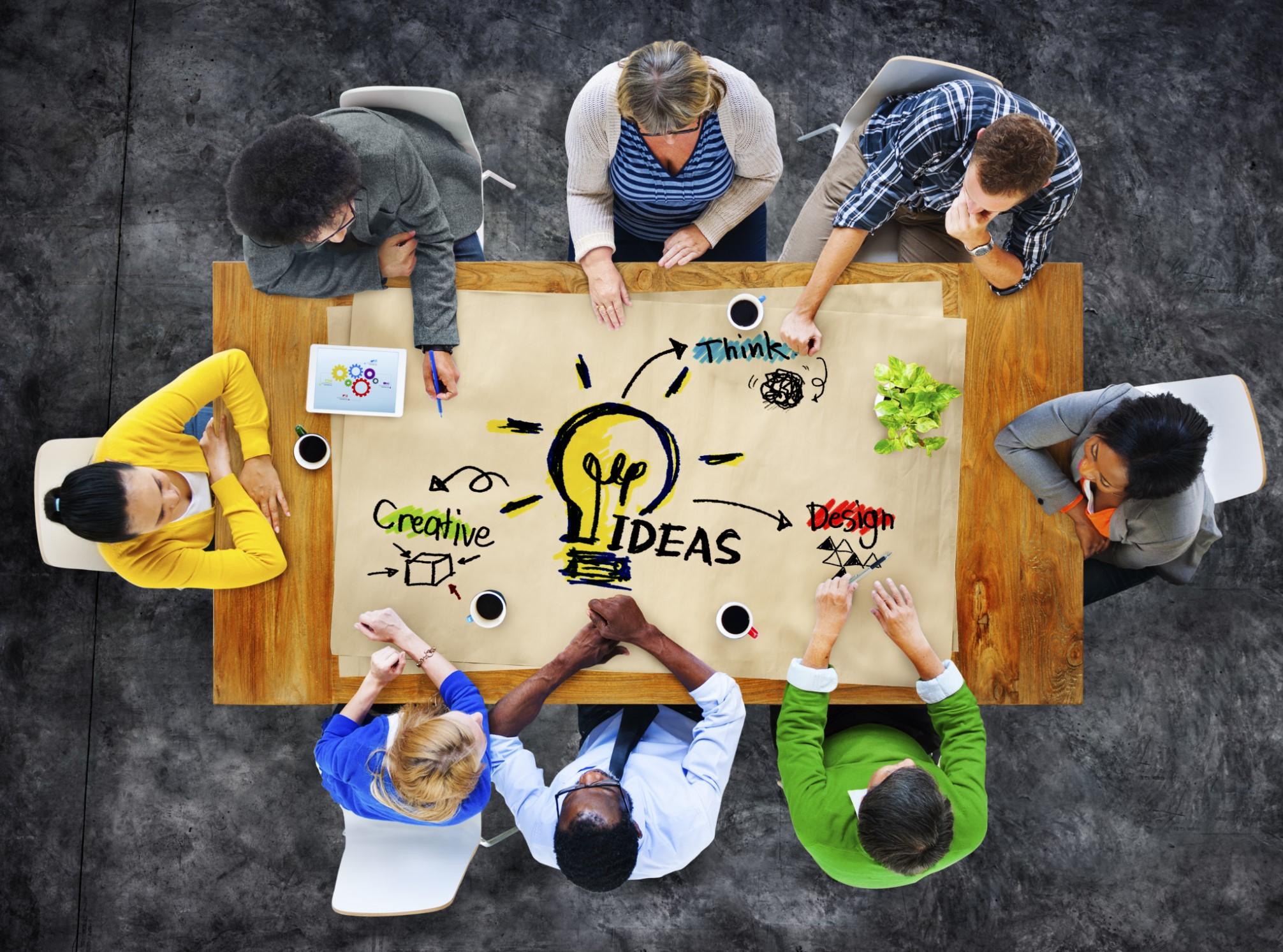 Brainstorming - tecnicas lluvias de idea - tormenta de ideas