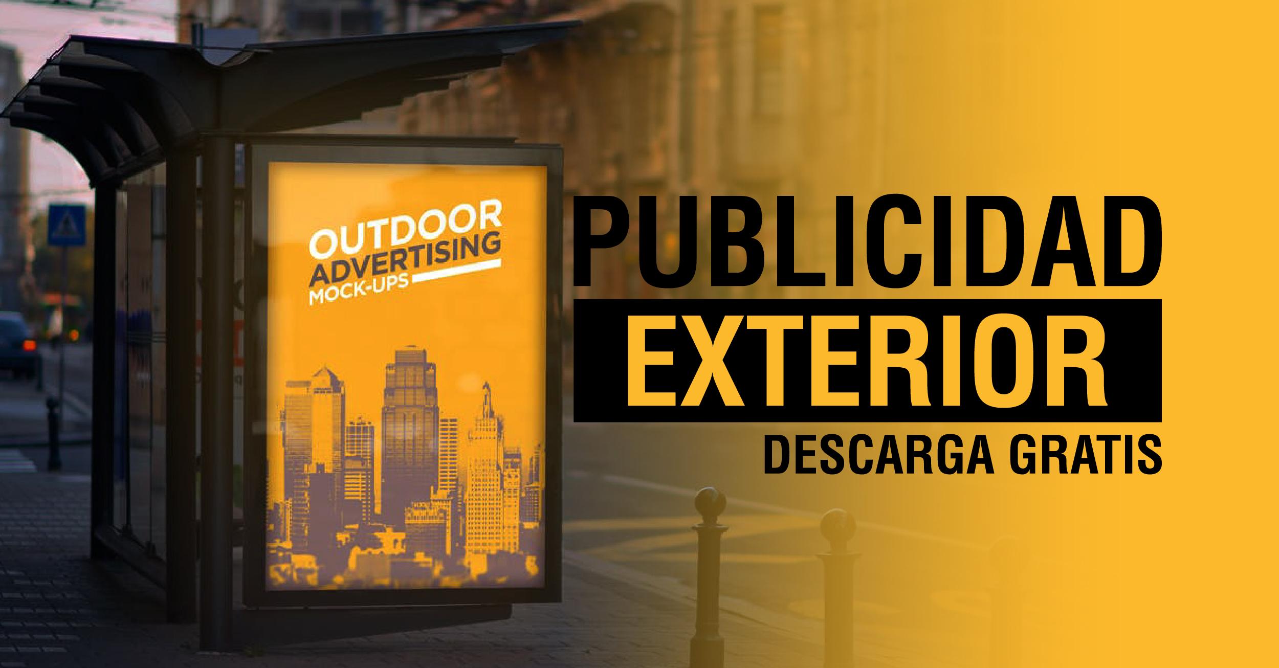 Mockups Publicidad Exterior