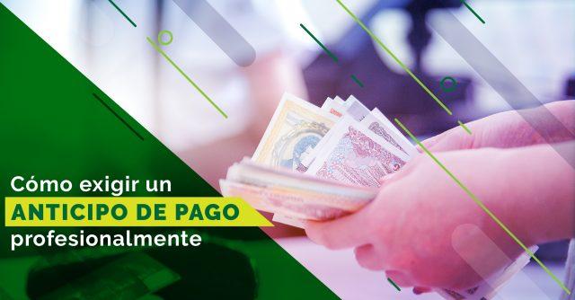 Adelanto de Pago post