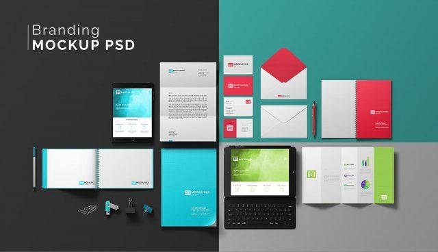Branding Mockup PSD   APA Diseño Gráfico