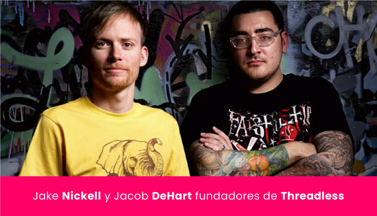 Jake Nickell y Jacob DeHart - fundadores - ceo - Threadless