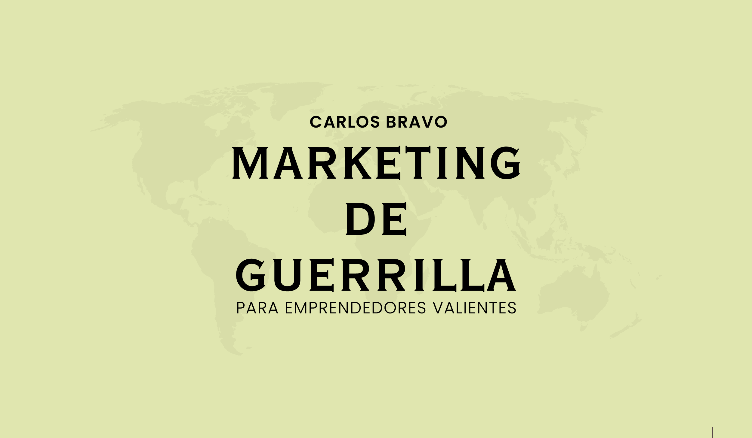 Marketing de Guerrilla - pdf - Carlos Bravo