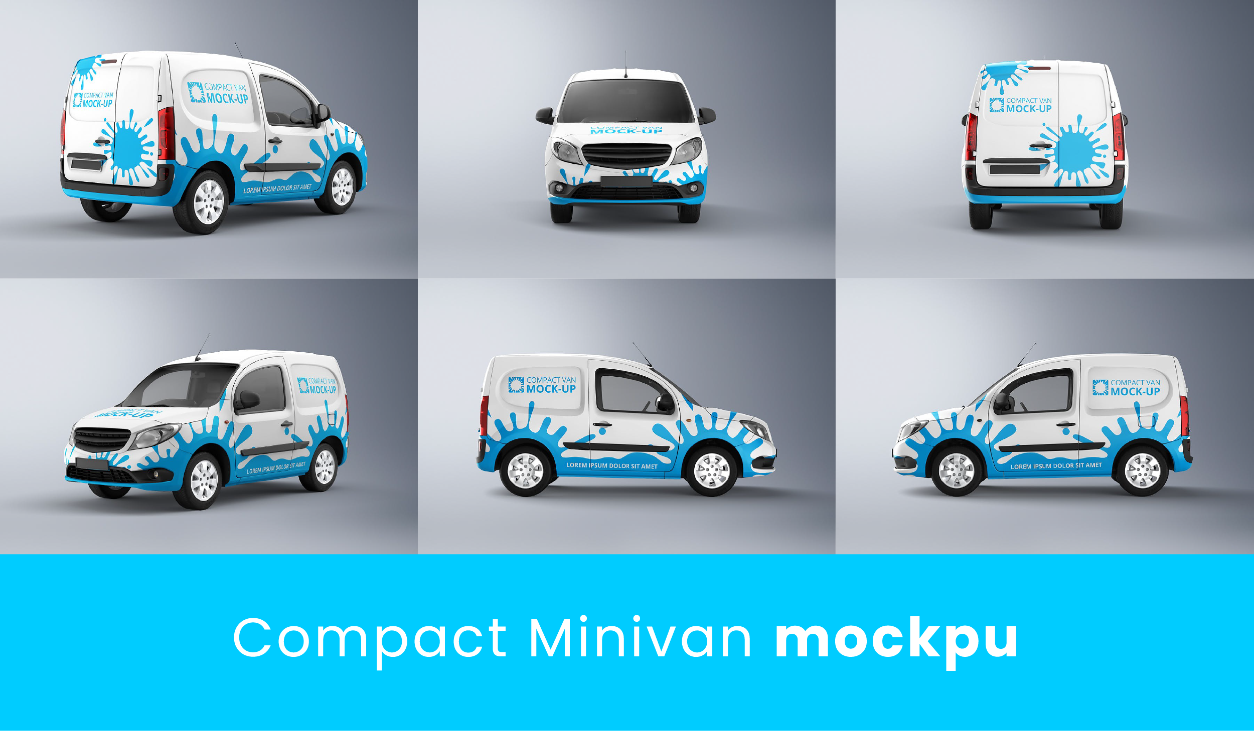 Minivan Car Mockup free download-01
