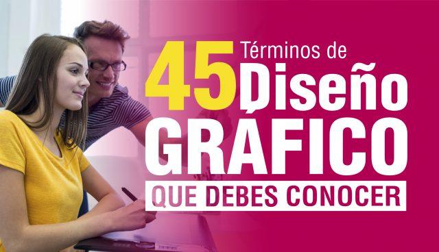 Portada 45 términos Diseño Gráfico