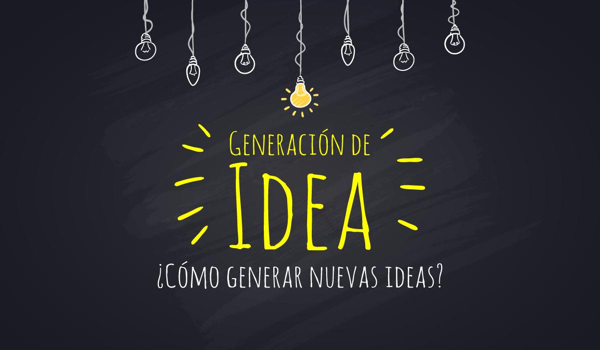 Generación de ideas _ tecnica de creatividad _proceso creativo _idea