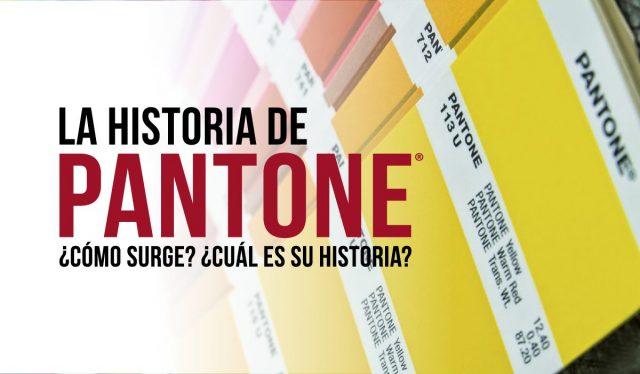 Historia oriegn y evolucion de marca de color PANTONE