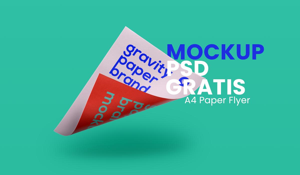 Flyer Mockups psd gratis - papel a4 flyer mosckups gratis -mockups volantes psd gratis - mockups psd flyer - mock ups flyer psd gratis