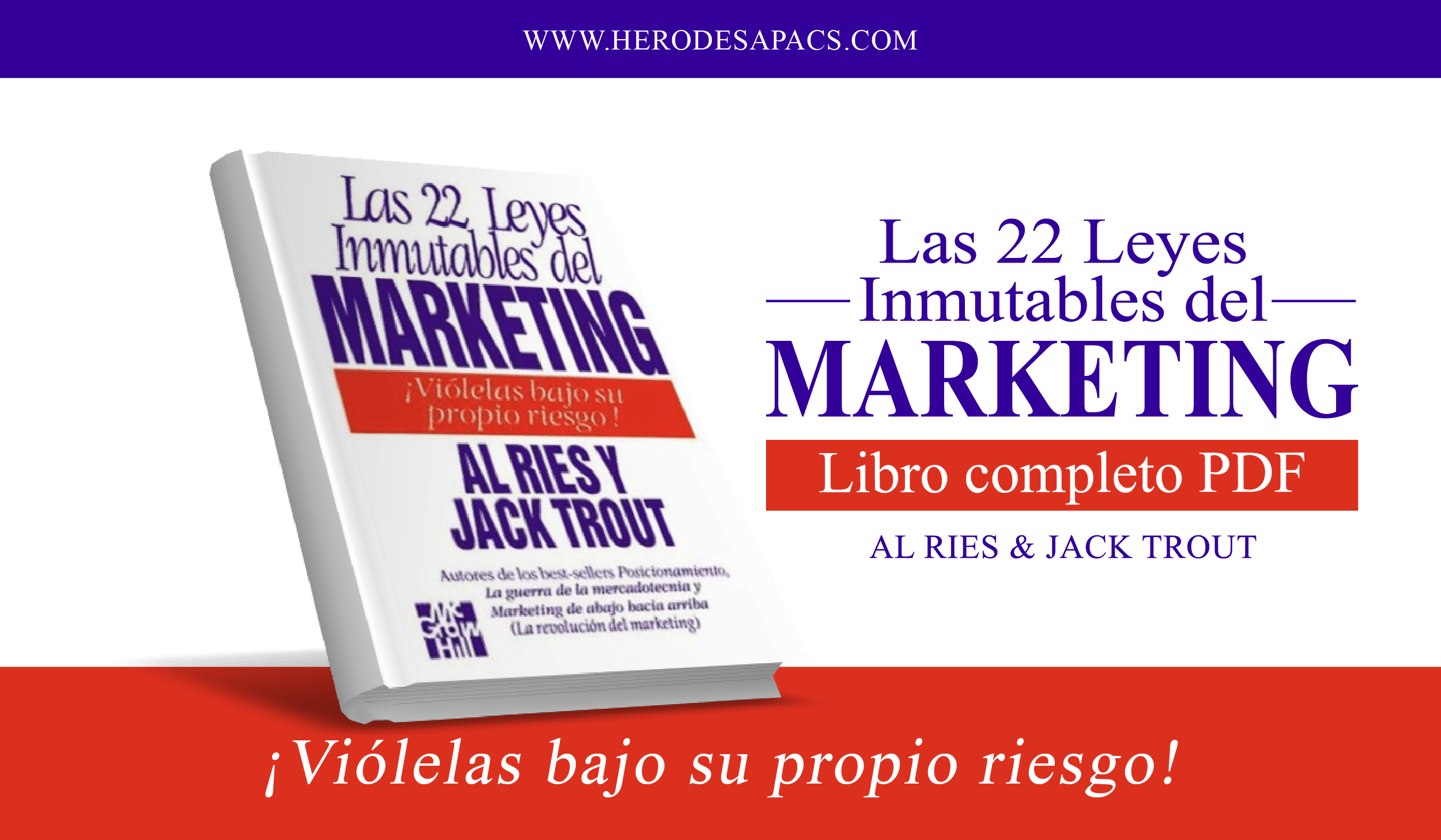 las 22 leyes inmutables del marketing - al ries - jack trout - leyes de marketing