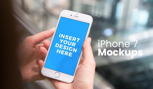 mockups iphone 7 plus - phone psd - psd phone - iphone template - phone mockup free - free phone mockup