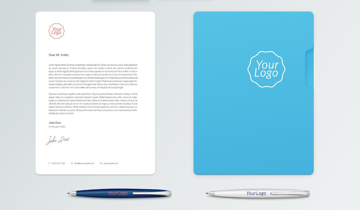 Mockup gratis papelería corporativa psd - mockup gratis - mockup papeleria