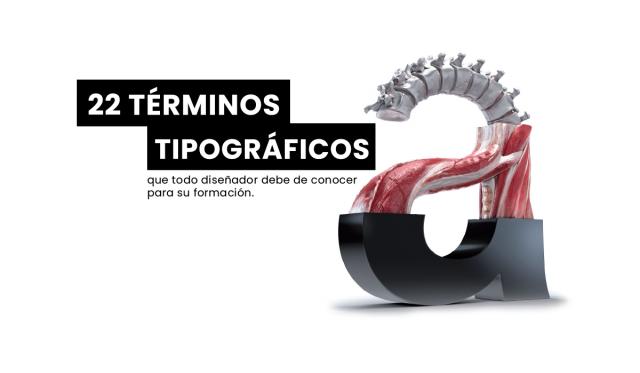 22 terminos tipograficos - anatomia - significado - diseño - diseño grafico
