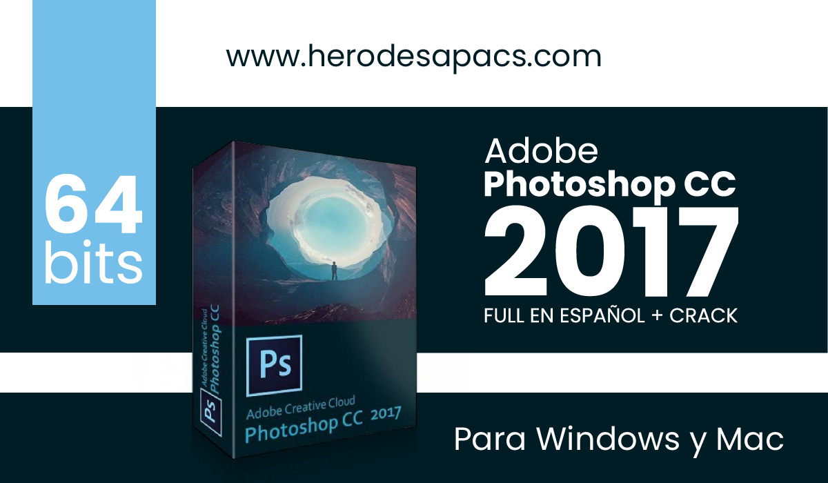 Adobe Photoshop CC 2017 Full español 64 Bits