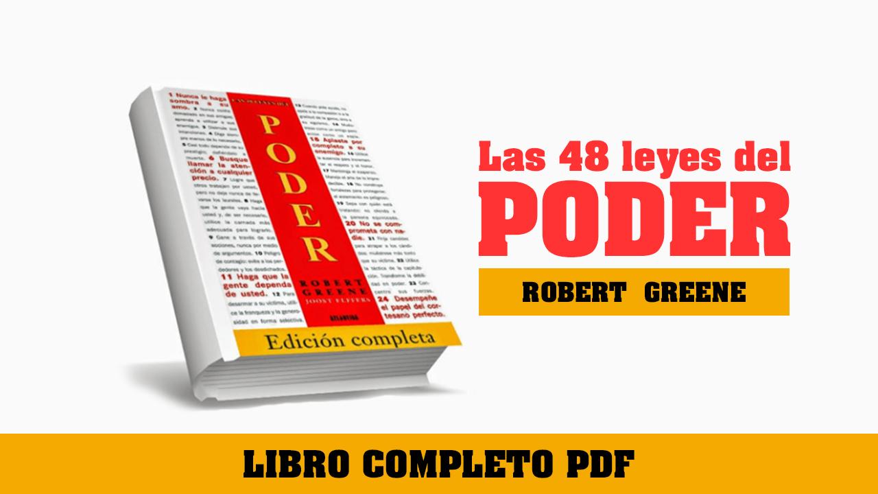 las 48 leyes del poder libro robert greene pdf - el poder libro pdf