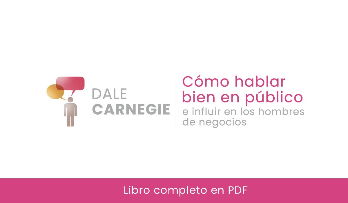 Como hablar bien en público - dale - carnegie - libros pdf