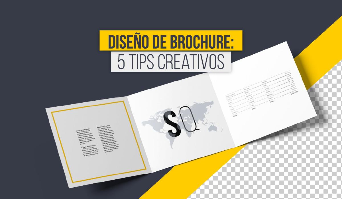 como crear un diseño de brochure corporativo - 5 tips creativo - ejemplos de brochure creativos