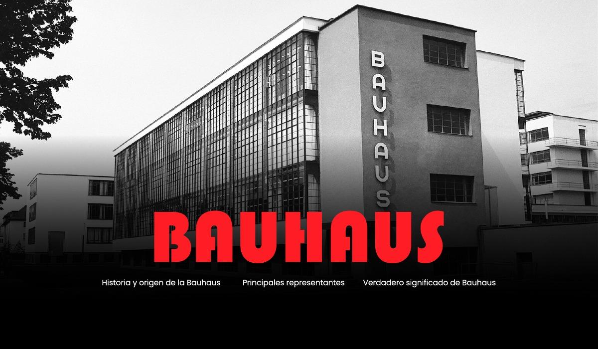 como surge la bauhaus - historia - origen - significado - principales representantes de la bauhaus