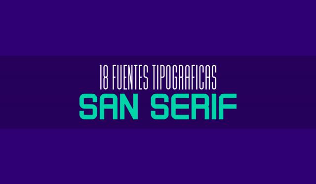 fuentes san serif - descarga gratis - set de fuentes tipograficas modernas - tipografias geometricas