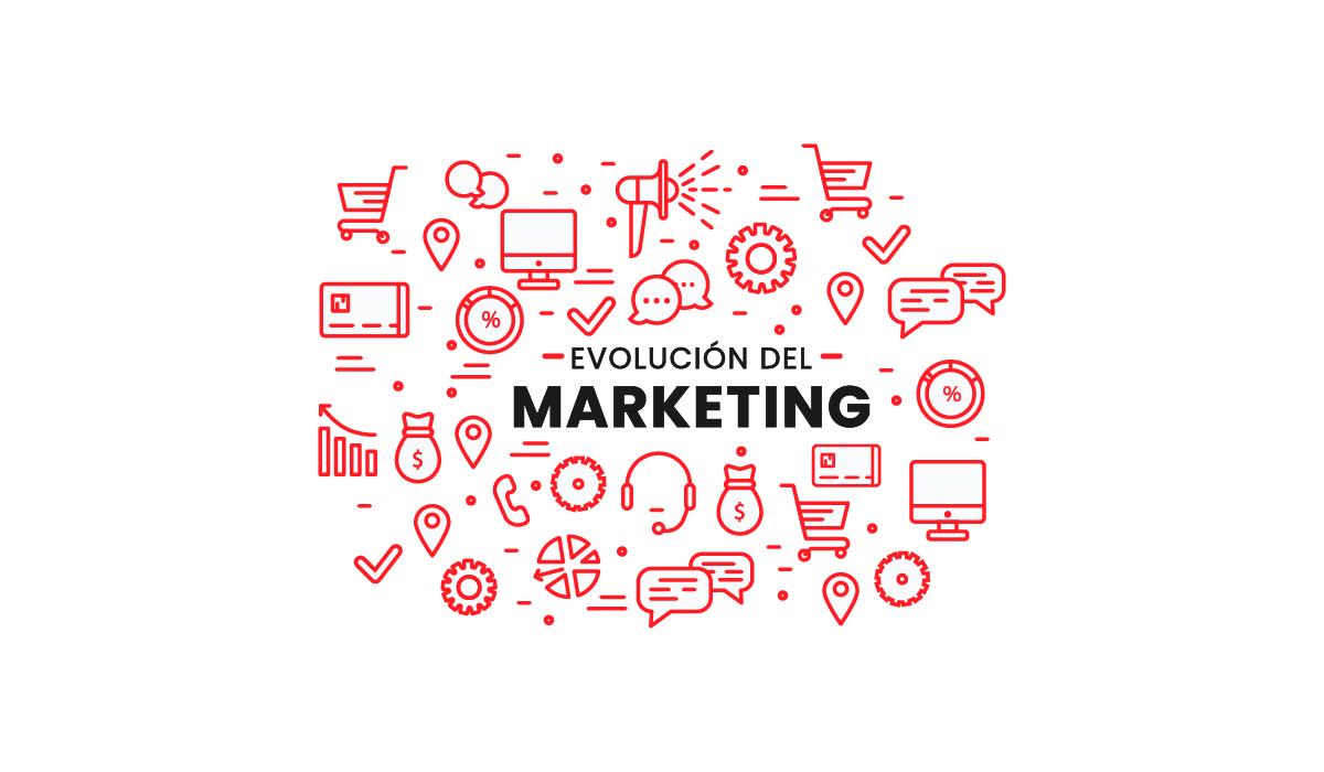 que es el marketing - evolucion del marketing - definicion - tipos de consumidores - 6 reglas del marketing digital