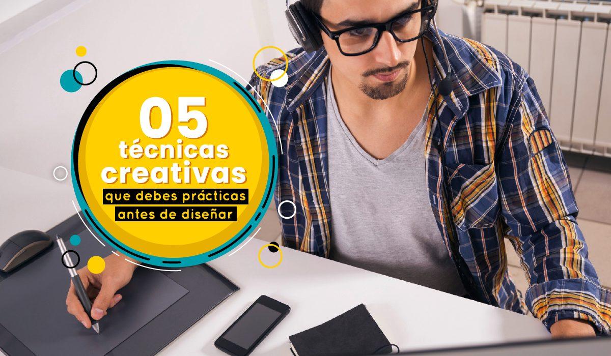 5 tecnicas creativas para inspirse y buscar mejores ideas para diseñar - como tener ideas para ser un diseñador más creativo