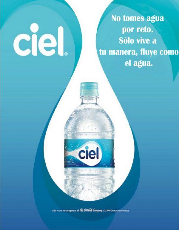 Como se posiciona un producto de una misma categoria - cualidades - estrategia - agua - marca - ciel