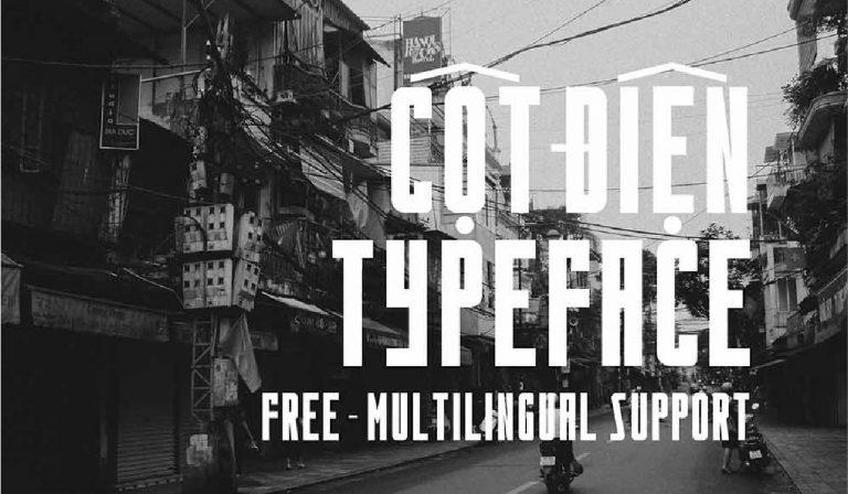 Cotdien - fuente - mayuscula - titulos - gratis