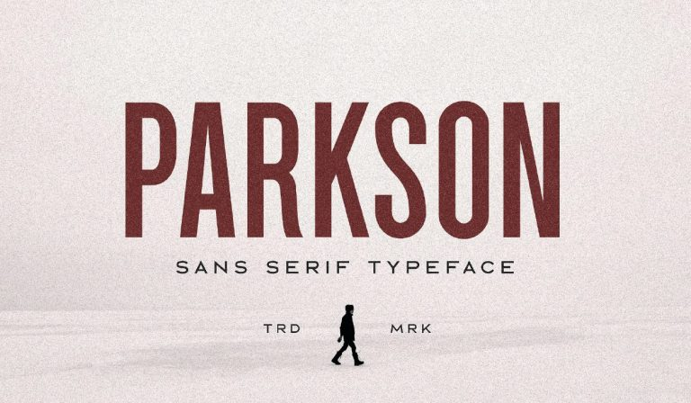 Fuente moderna - Parkson - gratuita - descargar-11