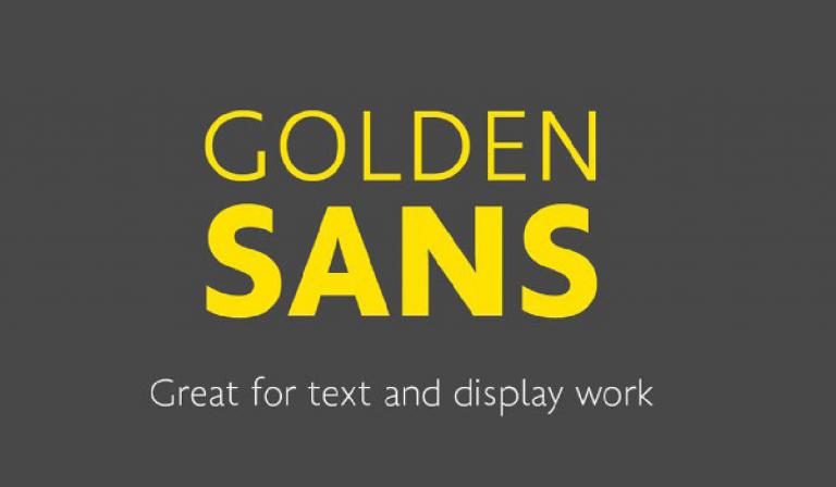 Golden sans - gratis - fuente condensed