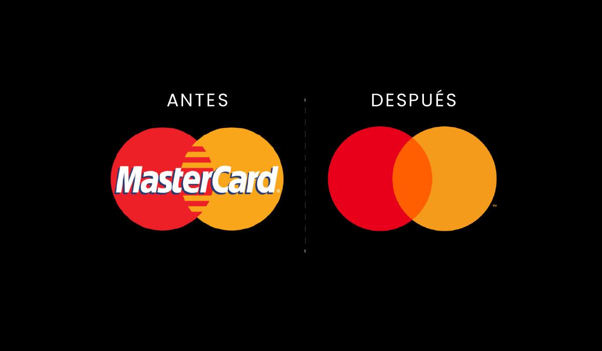 Mastercard - rediseño de logo - 2019 - branding - imagen corporativa - logotipo