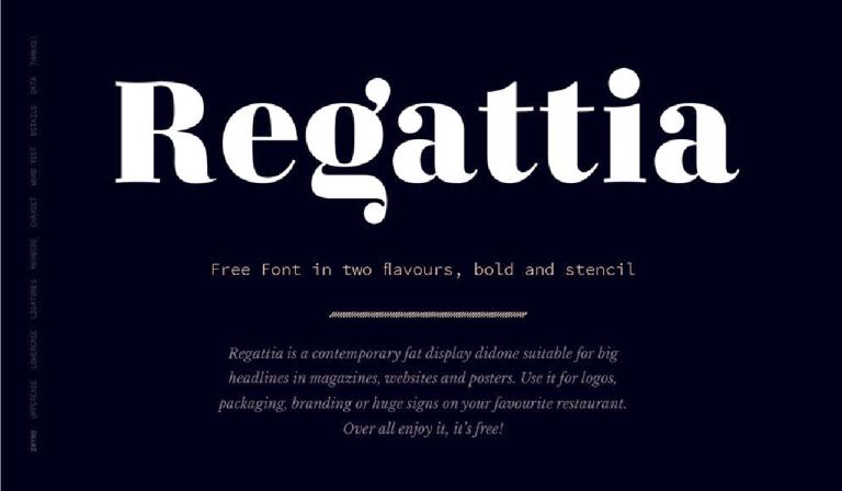 Fuente Regattia - descarga - gratis