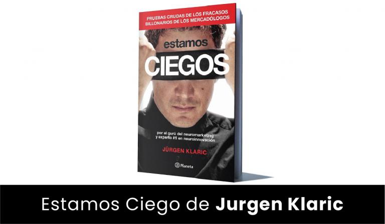 estamos ciego - jurgen klaric - libro español - para leer en 2019