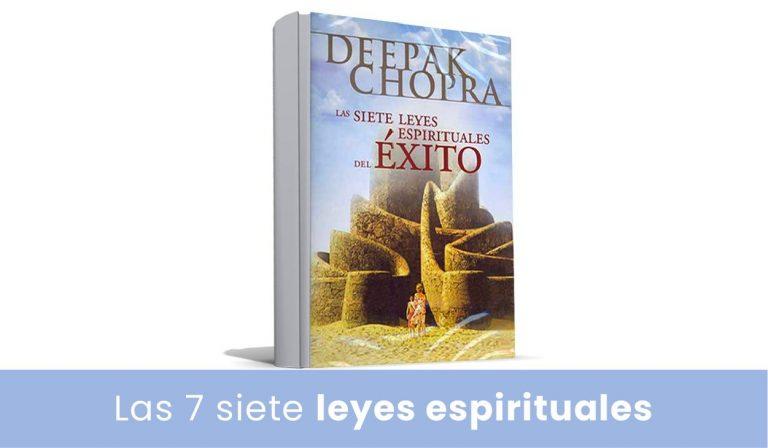 las siete leyes espirituales del exito de deepak chopra - libro digital - pdf