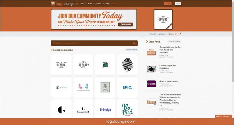 logolounge - plataforma - digital - logotipos - mas creativos - para inspirarse