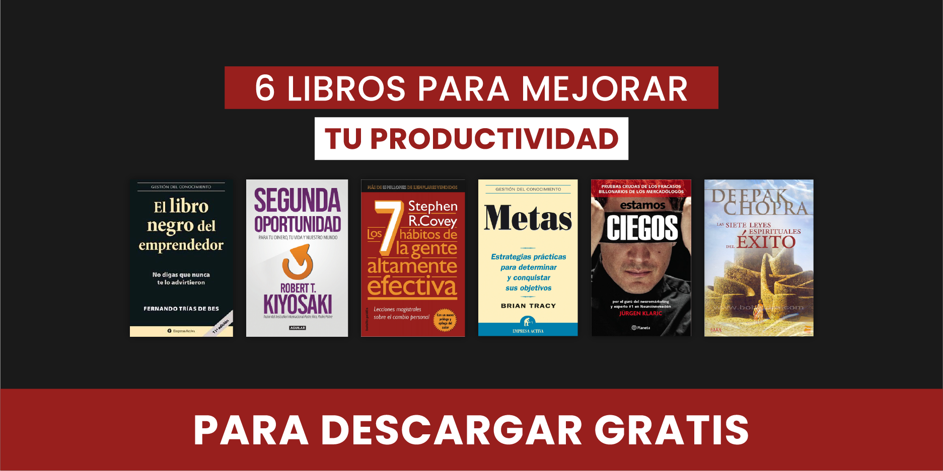 6 libros sobre productividad para comenzar el 2020