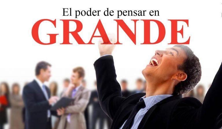 Como pensar en grande - libro - pdf - completo - español - descargar gratis