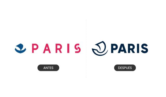 Nuevo diseño de identidad y logotipo para Paris - Francia - tendencias de branding 2019