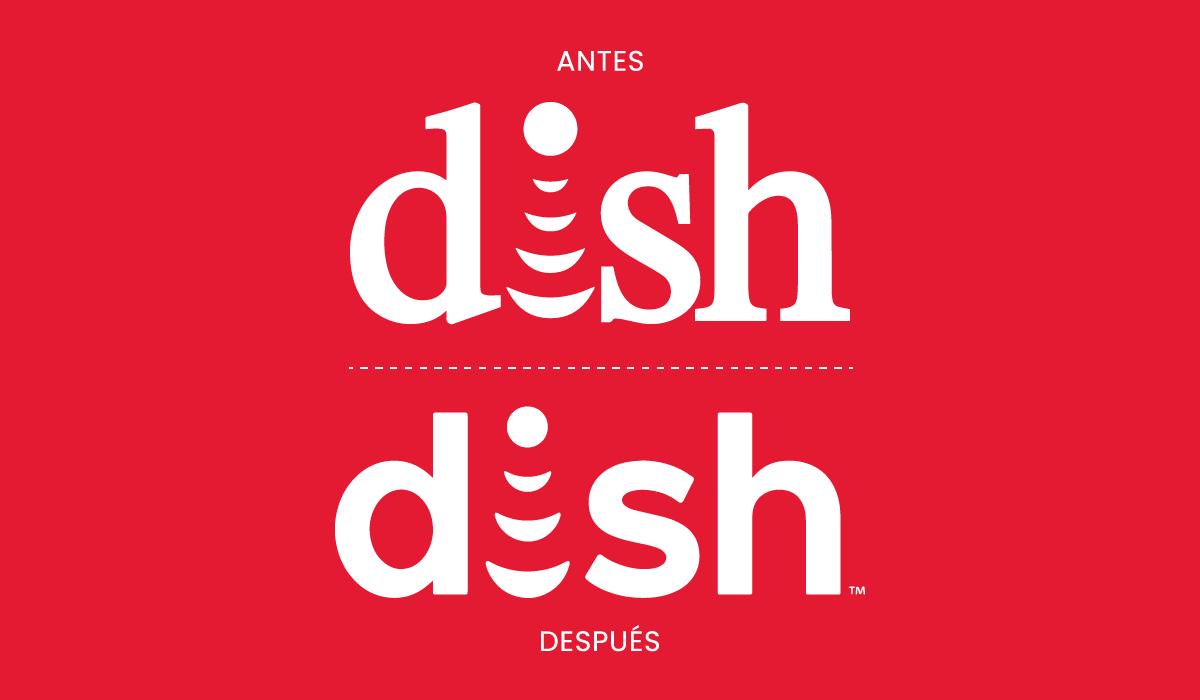 Nuevo diseño de imagen de la marca Dish Network - 2019 - identidad corporativa - logotipo Dish 2019 - noticias de branding - imagen visual corporativa