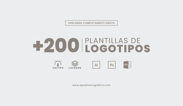 Descargar set de plantillas de logotipos editables para - psd - ai -eps - logomarcas - empresariales - profesionales - creativos - gratis