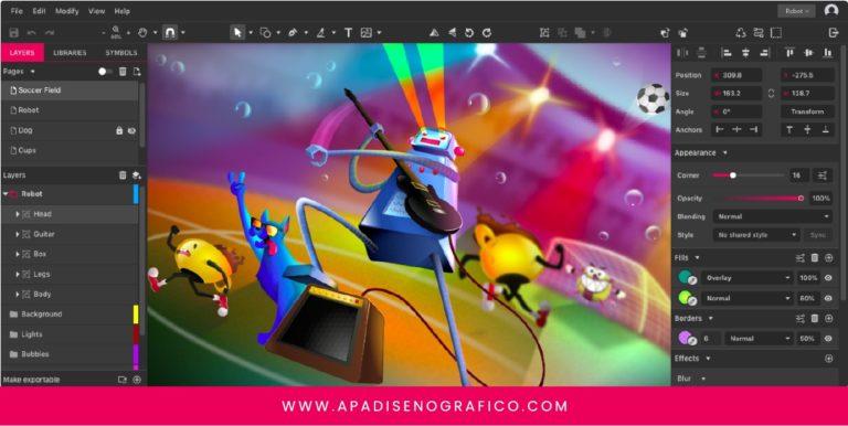 Gravit designer - software online para diseñar gratis - App para diseñadores