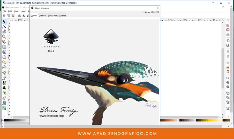 Inkscape - programa grauito de diseño grafico - para crear dibujos - ilustraciones - vectores