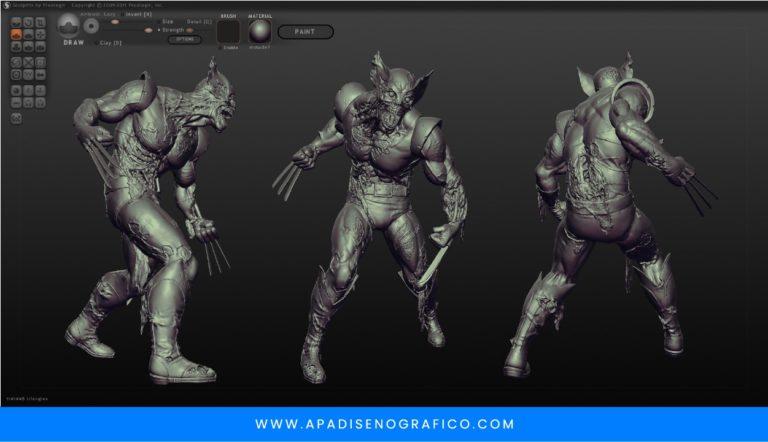 Sculptris - software para crear esculturas digitales y modelos 3d - para diseñadores - gratis