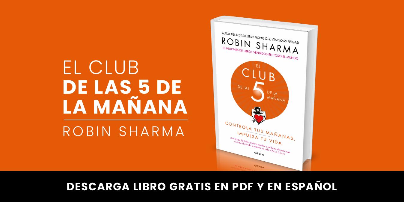 El club de las 5 de la mañana – Libro en PDF