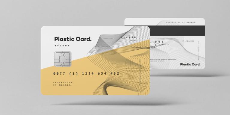 10 diseños de Mockup para tarjeta de credito