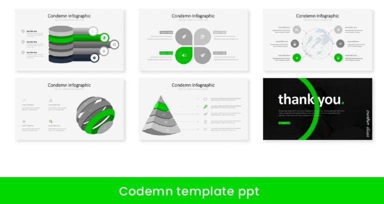 Codemn - estilos de plantillas para ppt - animadas - llamativas - descarga pack