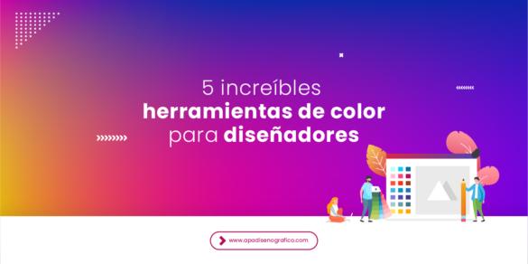 Las 5 mejores herramientas de color para diseñades para crear paletas - combinaciones de colores - proyectos - branding