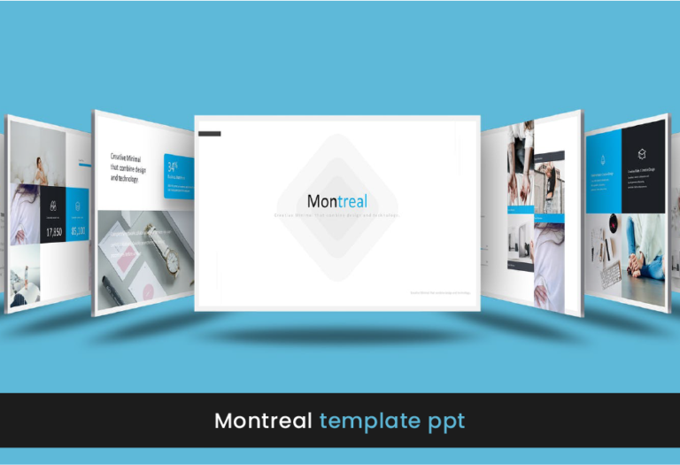 Montreal templates para power point - plantilla formal - profesional - moderna - para descargar - gratis