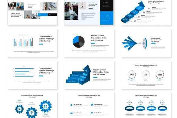 10 Plantillas de PowerPoint creativas y modernas ¡Gratis!