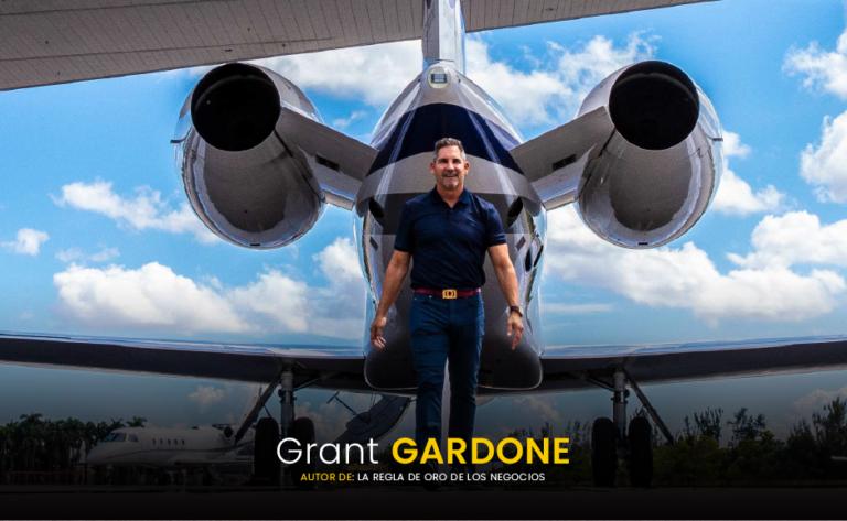 Grant Cardone - autor del libro - La regla de oro de los negocios - pdf - descargalo - gratis