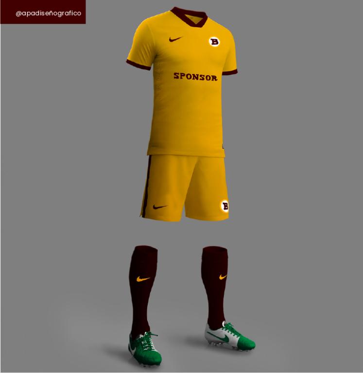 Las mejores plantillas de football en psd gratis para presentar diseños y jersey de futbol