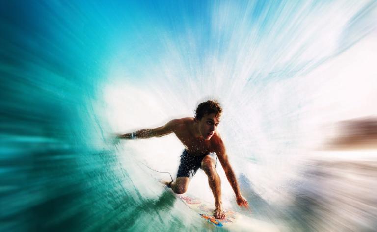 Set gratuito de Photosho Actions - Acciones Zoom Blur