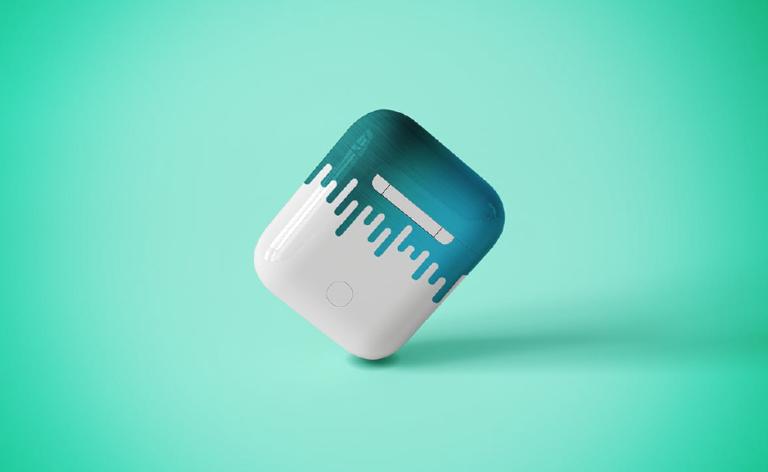 Mockups para audifonos de celurales en psd - gratis - descargar